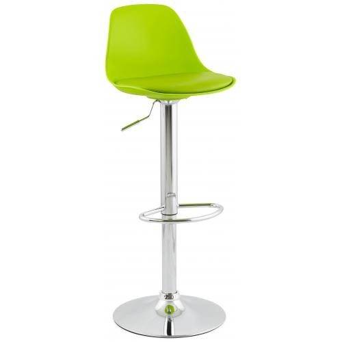 3S. x Home - Tabouret de bar design DIAMS vert - Promo Meuble & Déco