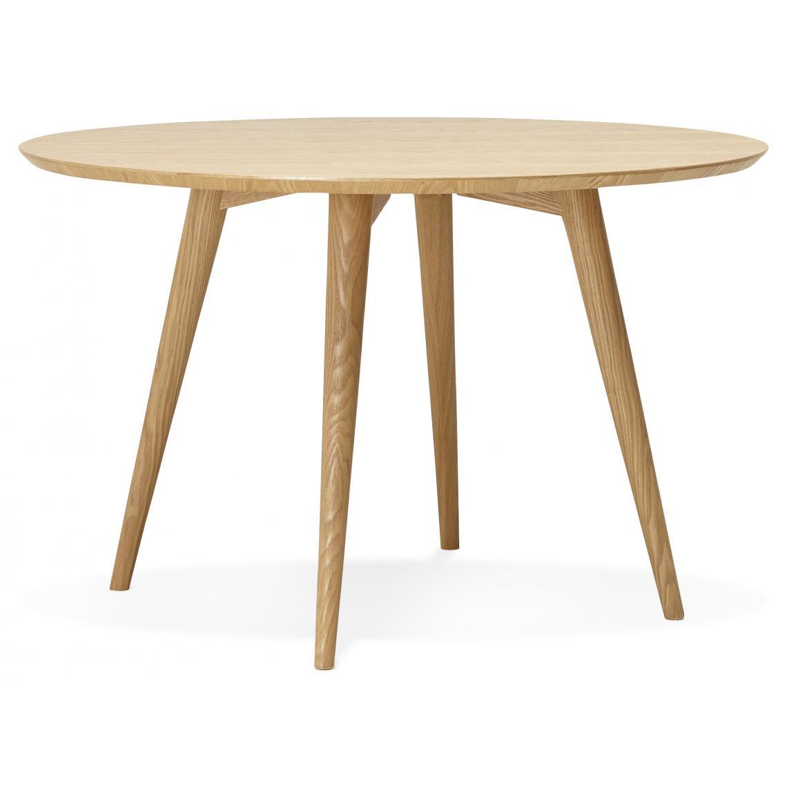 Rehausser Une Table De Salle A Manger table à manger ronde en bois jarri d.120cm plus de détails