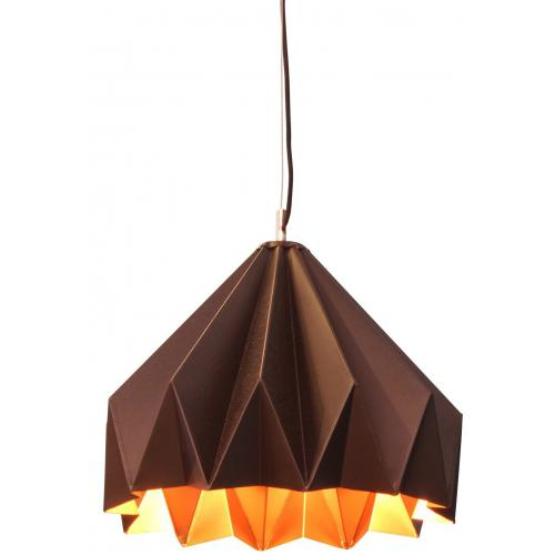 3S. x Home - Suspension Origami En Laiton LOTUS - Luminaire