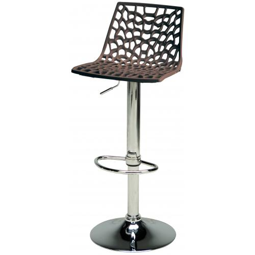 3S. x Home - Tabouret De Bar Design Marron SPARTE - Chaise, tabouret, banc