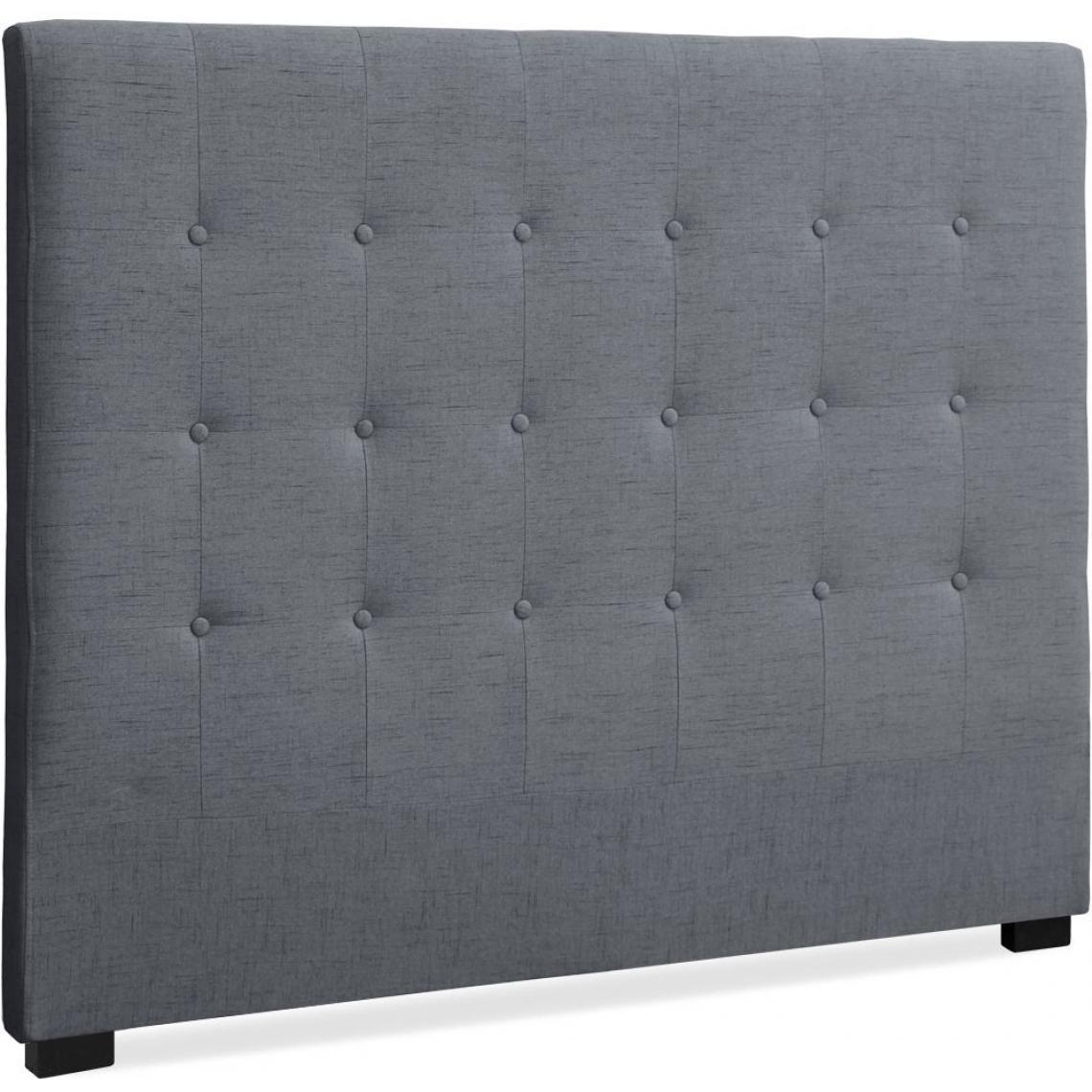 Tete De Lit Ethnique tête de lit 140 cm tissu gris chico 1 avis plus de détails
