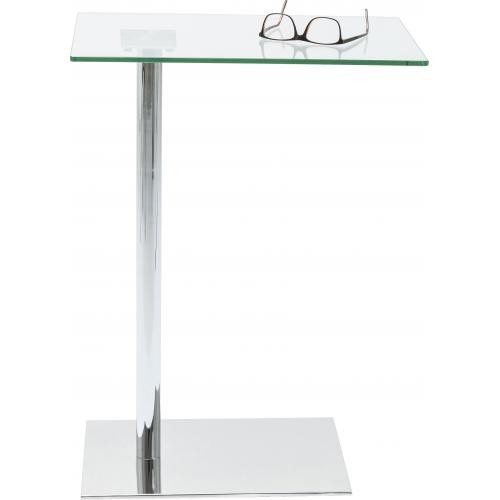 KARE DESIGN - Table d'appoint chrome WEST COAST - Table basse