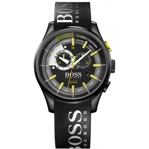 Hugo Boss - Montre BOSS YATCHING TIMER II 1513337 - Montre Chronographe Souple  Homme - Montre Homme