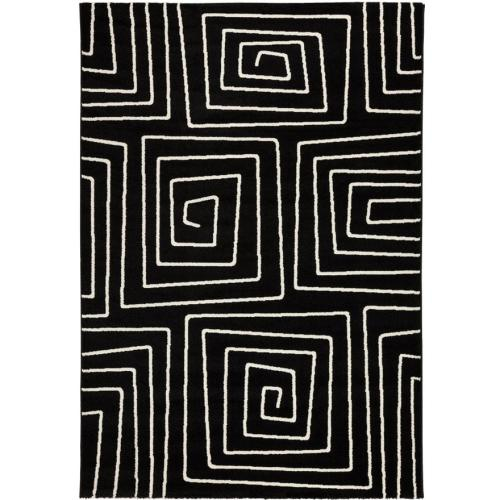 3 SUISSES - Tapis labyrinthe 230x160x1 cm ETHNO - Tapis