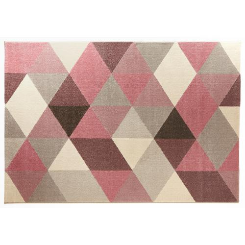 3S. x Home - Tapis rose 160x230x1 cm BIG - Tapis
