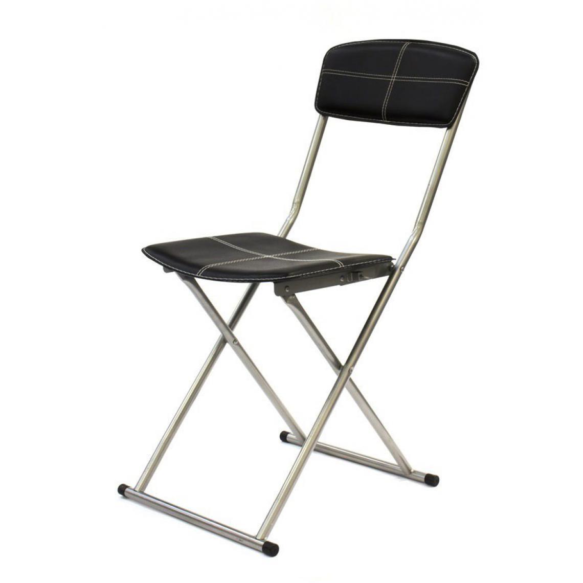 Chaise Suisses Chaise Lusta3 Pliable Noire tshdCQr