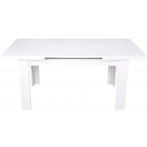 3S. x Home - Table à manger Extensible Blanc MAEVA - Table extensible