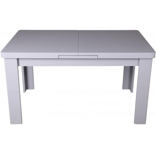 3S. x Home - Table ? manger extensible grise MAEVA - Table extensible
