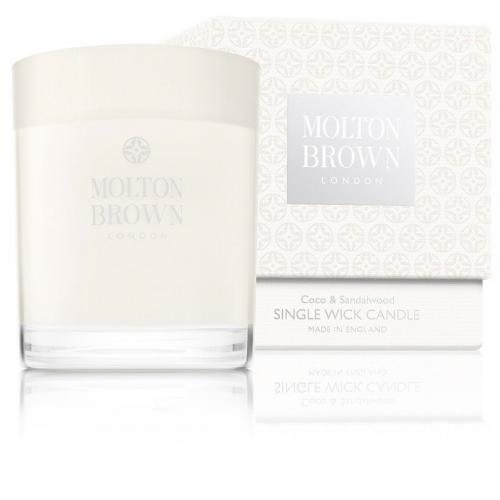 Molton Brown - Bougie Coco & Sandalwood - Coco, Jasmin, Bois de Santal - Beauté