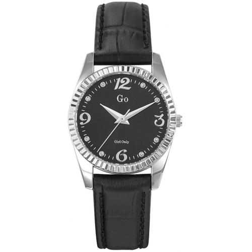 Go Girl Only - Montre Go Girl Only 698760 - Montre Noire Cuir Femme - Mode femme