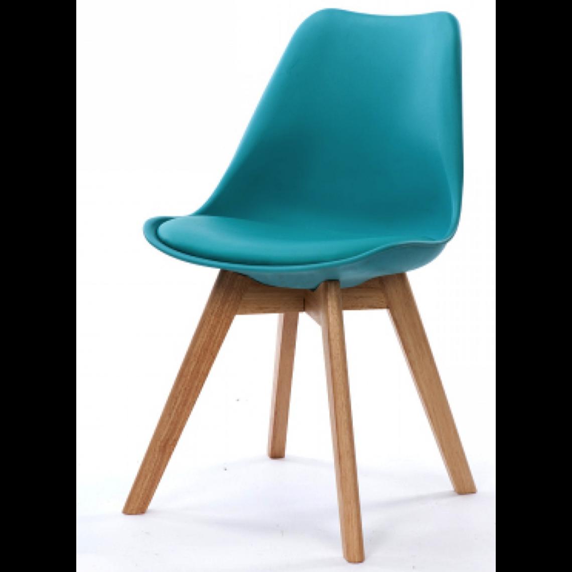 Suisses Hades3 Style Turquoise Chaise Design Scandinave OPkXiuZ