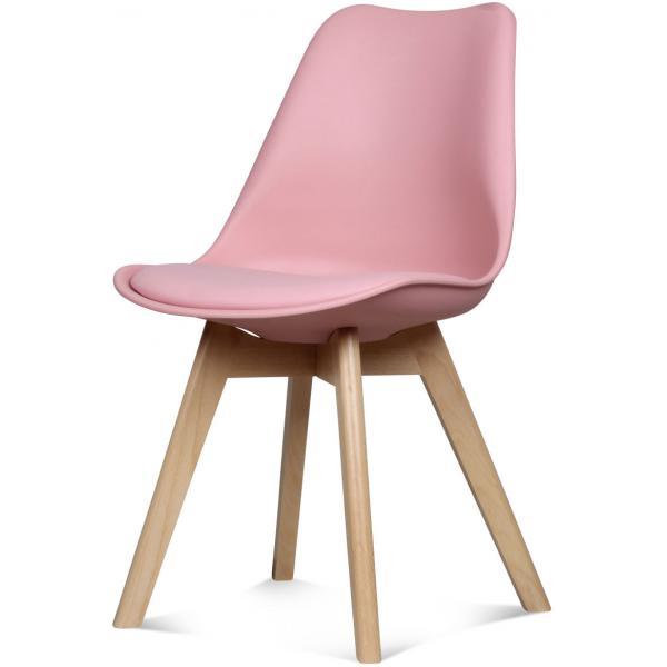 chaise design style scandinave rose esben 3suisses. Black Bedroom Furniture Sets. Home Design Ideas