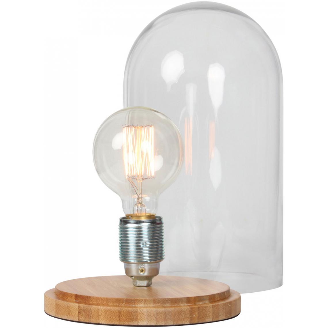En D17xh30 Suisses Socle Kupfer3 A Bambou Verre Lampe Poser Cloche eCrxdBo