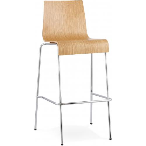 3S. x Home - Tabouret de bar Bois MAHONE - Tabouret de bar