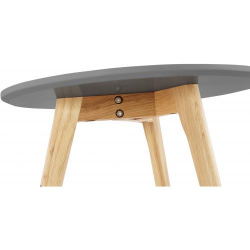 Lot de 2 tables gigognes scandinaves grises lovon 3 suisses - Les trois suisses meubles ...
