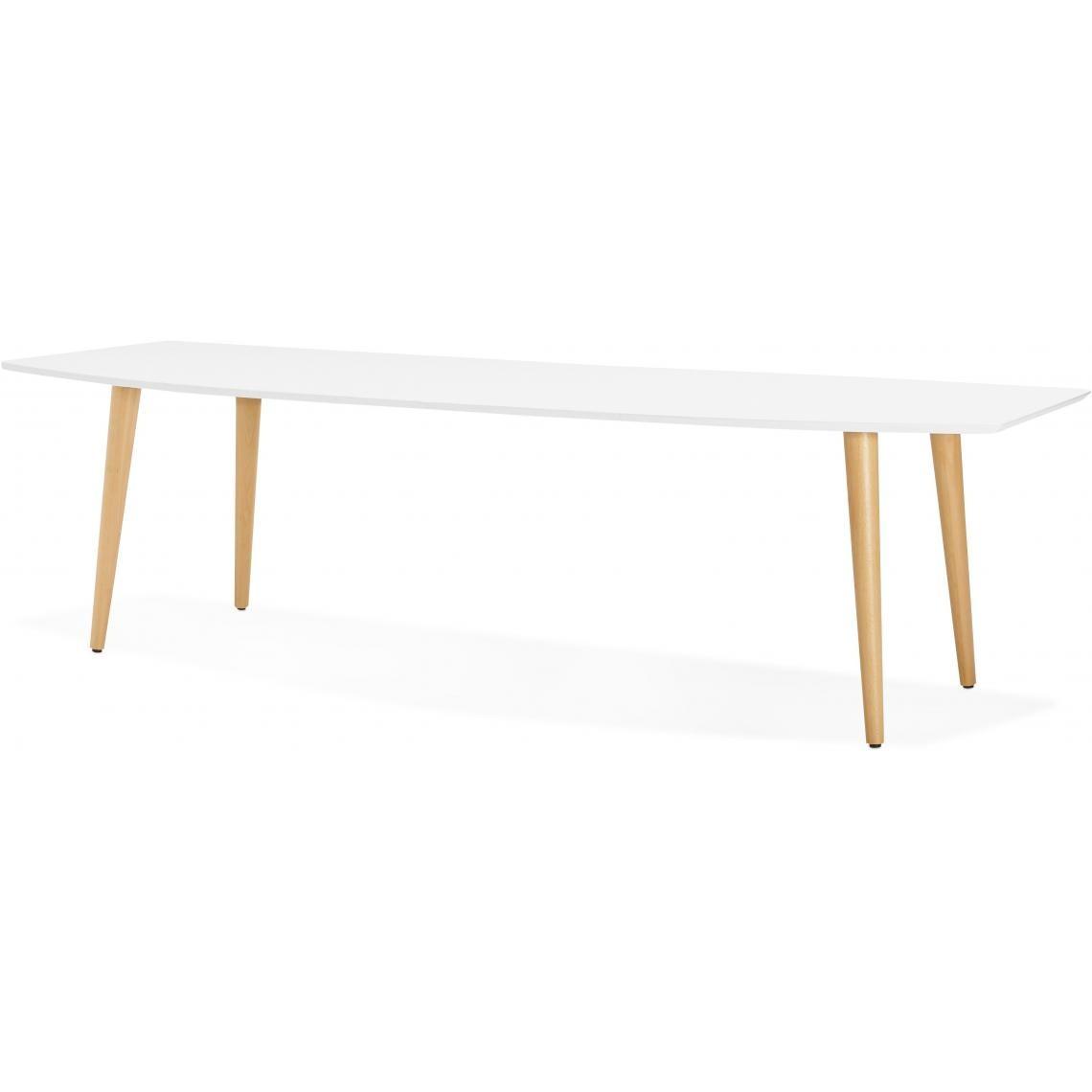 Table À Manger Nordique table à manger scandinave rectangulaire fashion   3 suisses