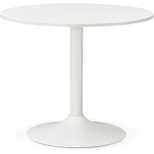 3S. x Home - Table Ronde Bois Blanche D90 ZIRTEC - Table basse