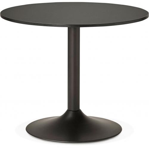 3S. x Home - Table Ronde Bois Noire D90 ZIRTEC - Table basse