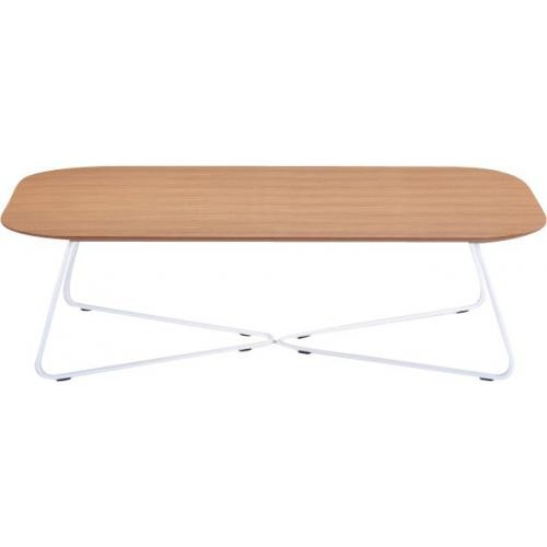 3S. x Home - Table Basse Scandinave Chêne 60x120 JAKA - Le salon