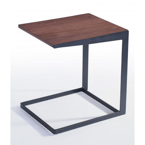 3S. x Home - Table d'Appoint Noyer SARDIS - Table basse