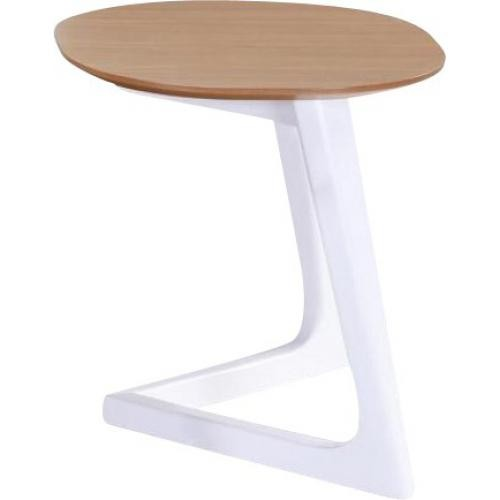 3S. x Home - Table d'Appoint Scandinave Chêne SIGASTE - Le salon