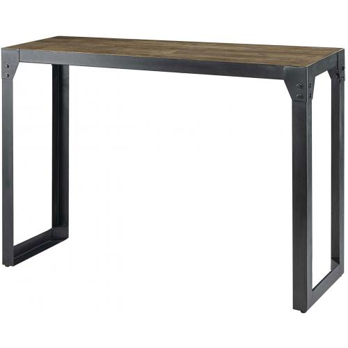 3S. x Home - Console Industrielle Bois et Métal HOWARD - Le salon
