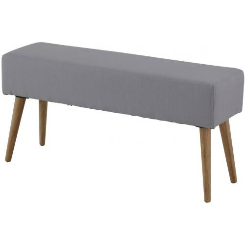 3S. x Home - Banc Scandinave Gris MALLORY - Chaise, tabouret, banc