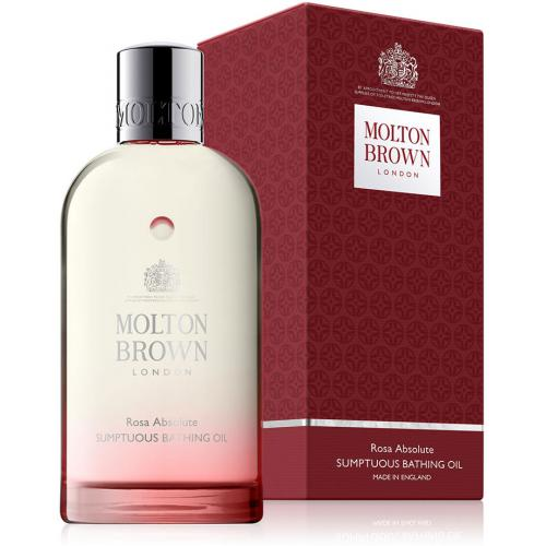 Molton Brown - Huile somptueuse pour le Bain Rose Absolute - Rose & Huile d'Argan - Soins corps femme