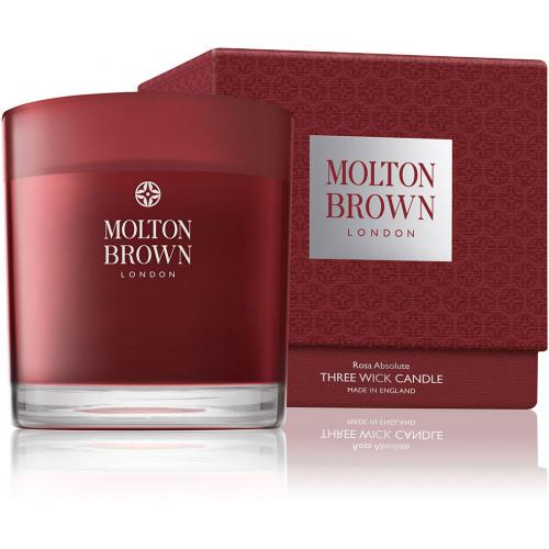 Molton Brown - Bougie 3 Mèches Rosa Absolute - 480g - Noël Meuble & Déco