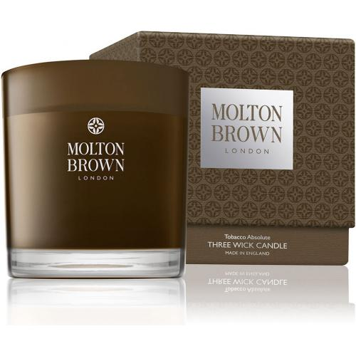 Molton Brown - Bougie 3 Mèches Tabac - 480g - Promotions