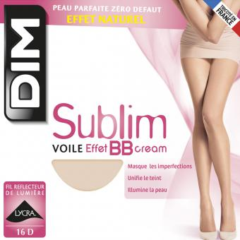 Dim Chaussant - Collant Sublim Voile Effet Bb Cream 16D Chair - Bas et collants