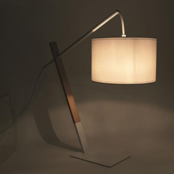 Lampe Décorative Style Scandinave Coloris Blanc H49cm EULALIE Plus de détails