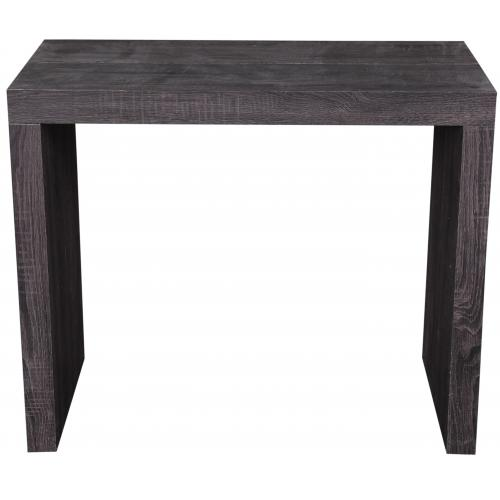 3S. x Home - Console extensible 225cm Wenge Mat AUDRY - Table