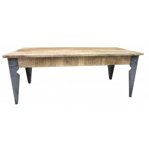 3S. x Home - Table basse en bois et métal H46 AMBROSIA - Table basse