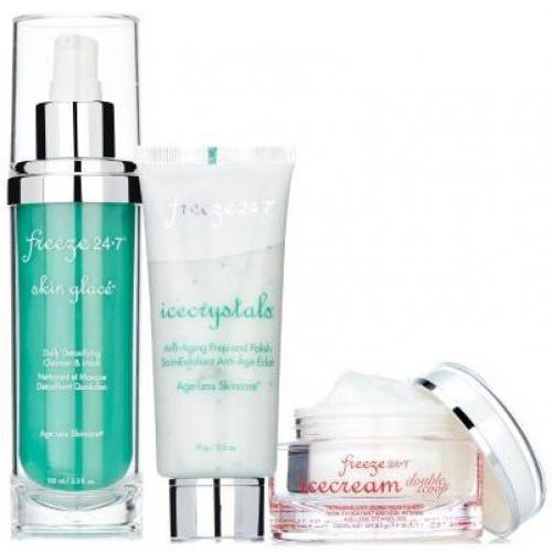 Freeze 24.7 - The Essentials Kit - Skin Glace, IceCrystals, IceCream Double Scoop - Beauté