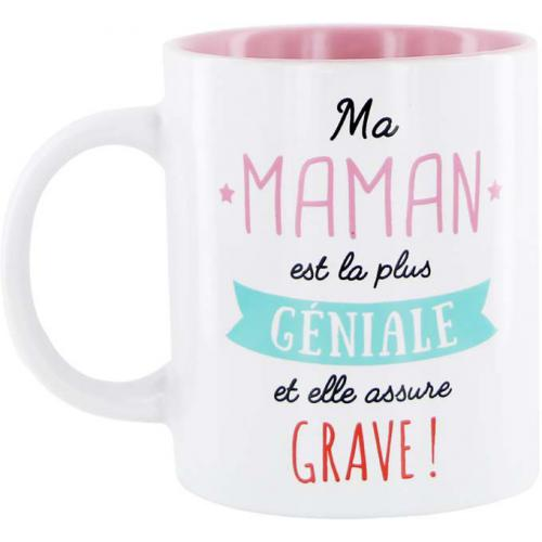 3S. x Home - Mug En Céramique Rose Maman FRIENDS - Arts de la table