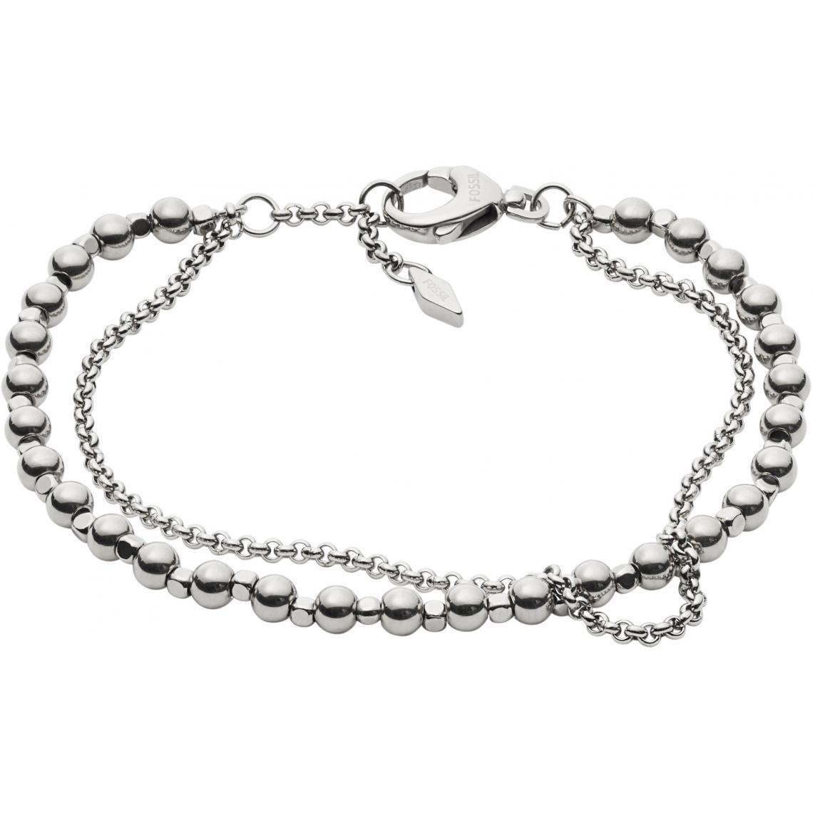 Bracelet Fashion JA6865040 - Bracelet Boule Argenté - Fossil Bijoux - Modalova