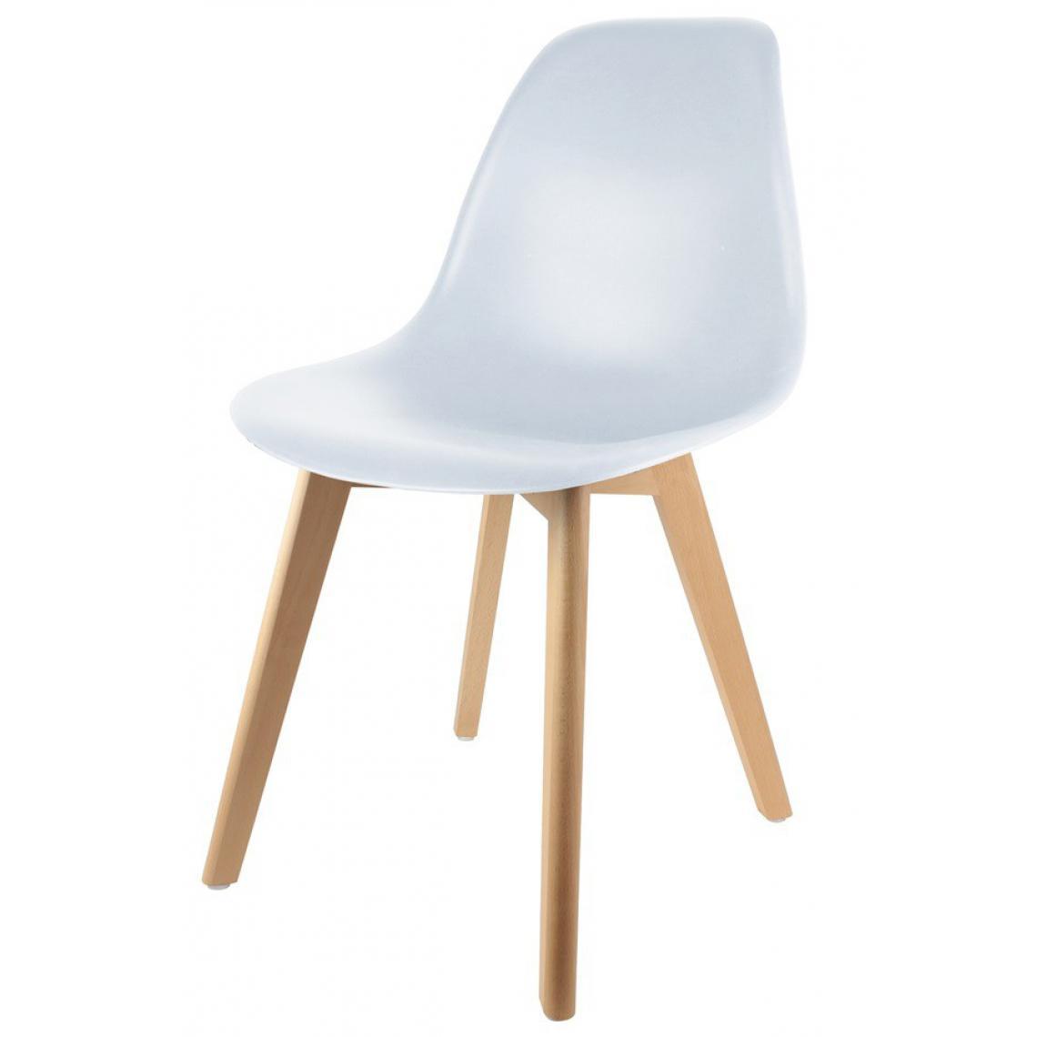 chaise enfant scandinave blanc baby fjord 3suisses. Black Bedroom Furniture Sets. Home Design Ideas