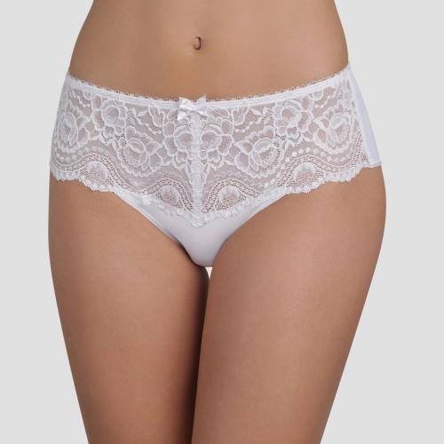Playtex - Culotte midi blanche - Lingerie femme