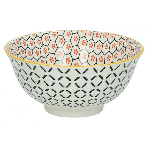 Pomax - Bol Pomax  Alv?ole Orange En Porcelaine D15 Bol IRISEA - Arts de la table