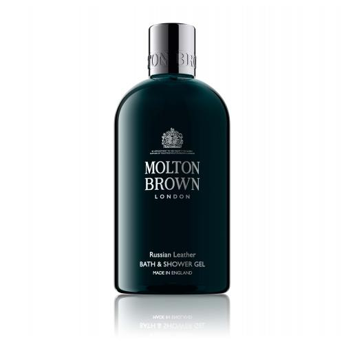Molton Brown - Gel Douche Russian Leather - Beauté femme