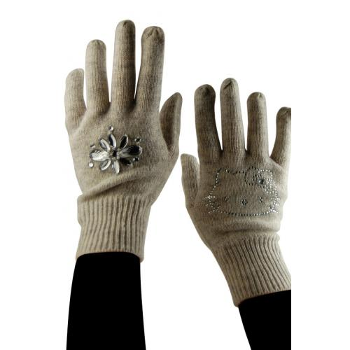 Hello Kitty by Victoria Couture - Gants Hello Kitty Gris et strass - Les essentiels Enfants