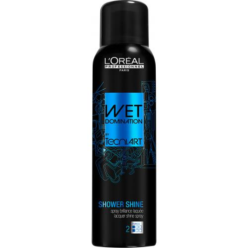L'Oréal Professionnel - TECNI.ART WET DOMINATION SHOWER SHINE - Spray-Laque Fini Ultra-Brillant - Beauté