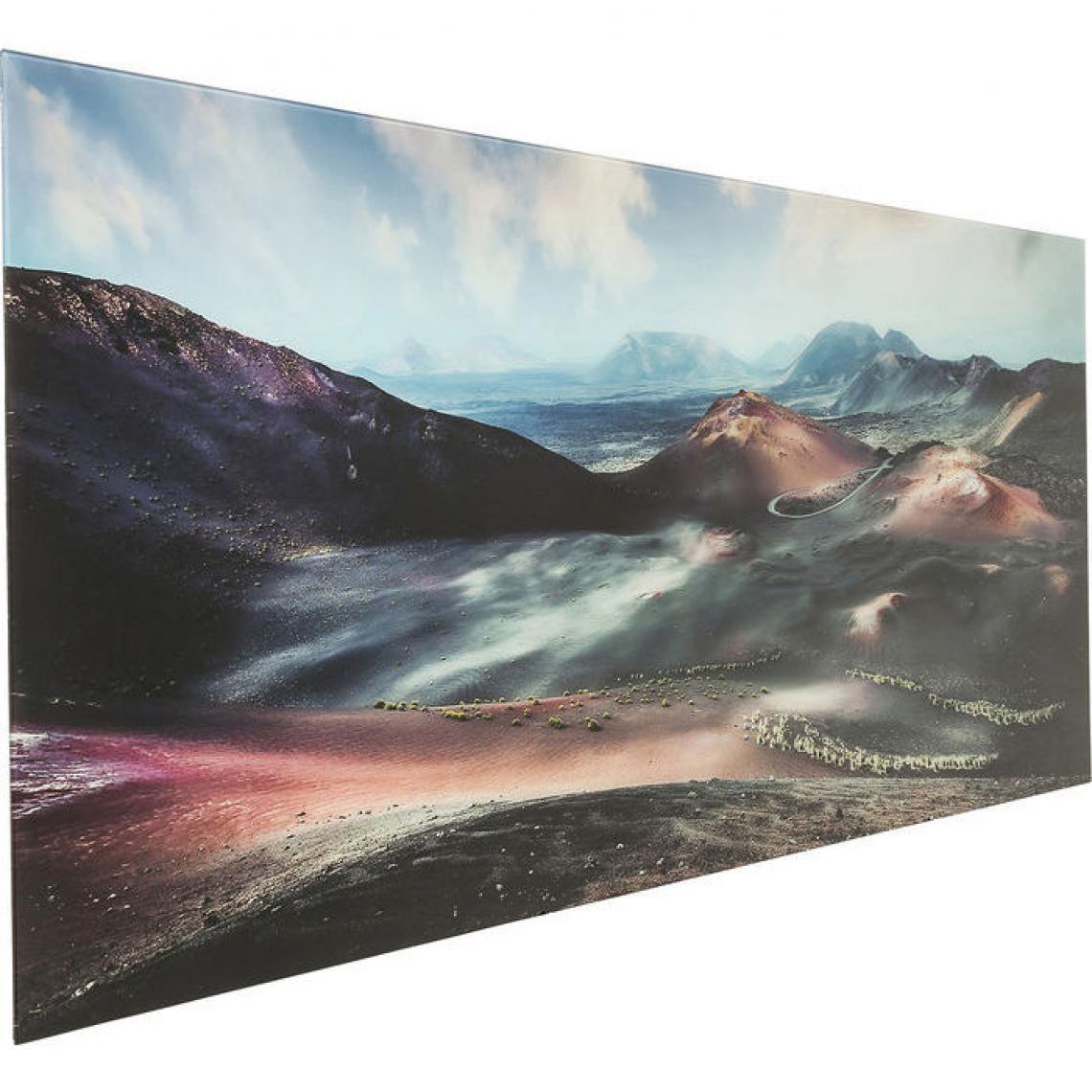 Tableau En Verre Kare Design Vallée De La Mort 70x180cm DEATHVALLEY cYb5t