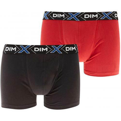Dim Underwear - Pack de 2 Boxers X-Temp - Thermorégulation Active - Sous-vêtements