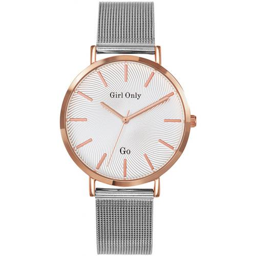 Go Girl Only - Montre Go Girl Only 695994 - Montre Acier Argentée Femme