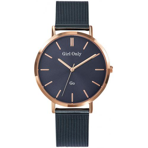 Go Girl Only - Montre Go Girl Only 695996 - Montre Acier Bleu Femme