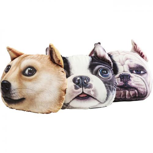 KARE DESIGN - Lot De 3 Coussins KAREDESIGN Multicolores 3D PTITKIEN - Coussins