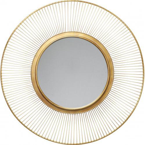 Miroir Soleil Doré D93cm LIGHT