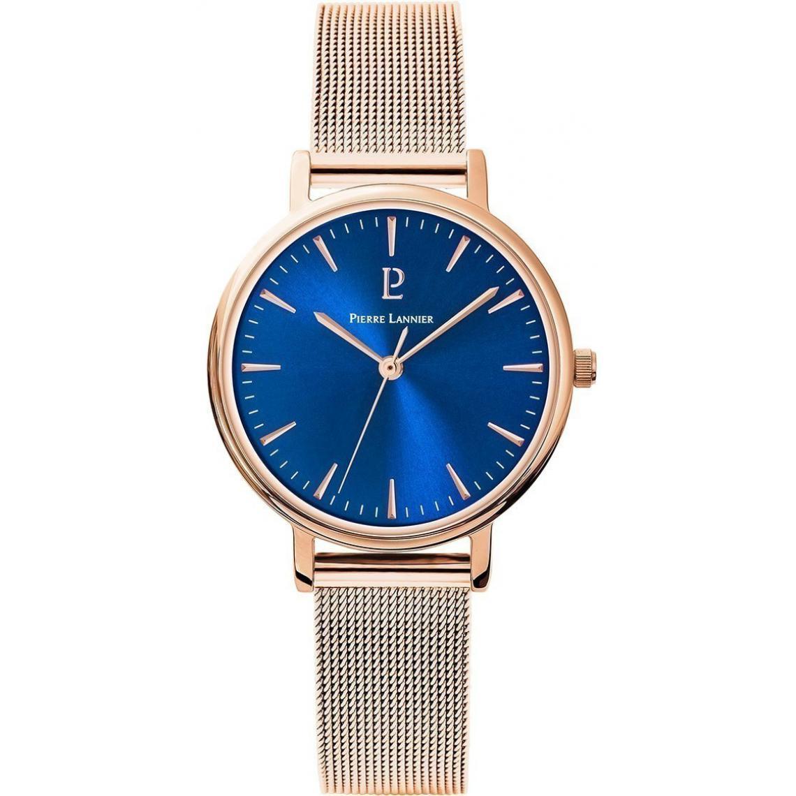 Montre 091L968 - Montre Bracelet Bracelet Acier Or Rose Montres - Pierre Lannier - Modalova